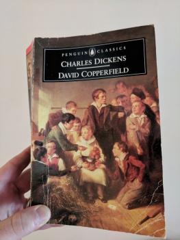 Hardcopy of Charles Dickens David Copperfield